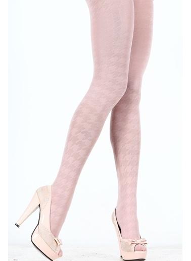 2'Li Desenli Külotlu Çorap -Pierre Cardin